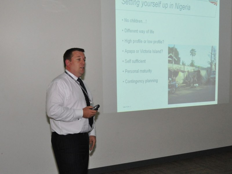 Richard Walker - Setting yourself up in Nigeria